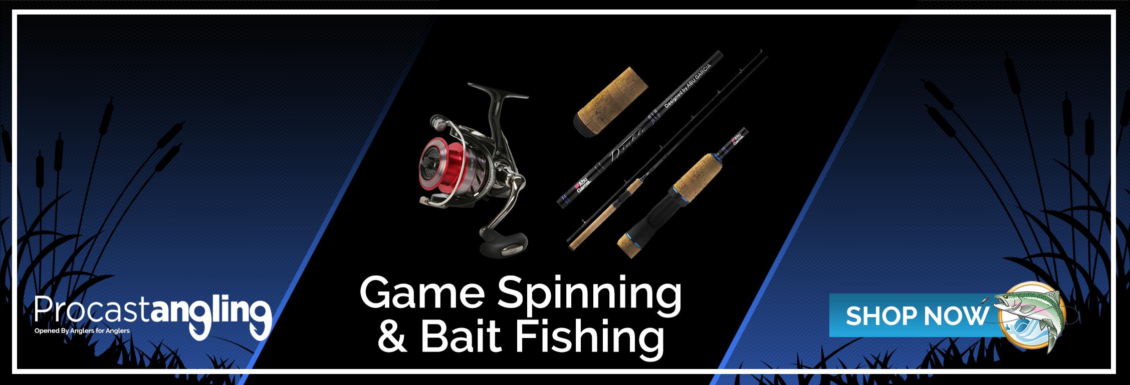 GAME SPINNING & BAIT FISHING