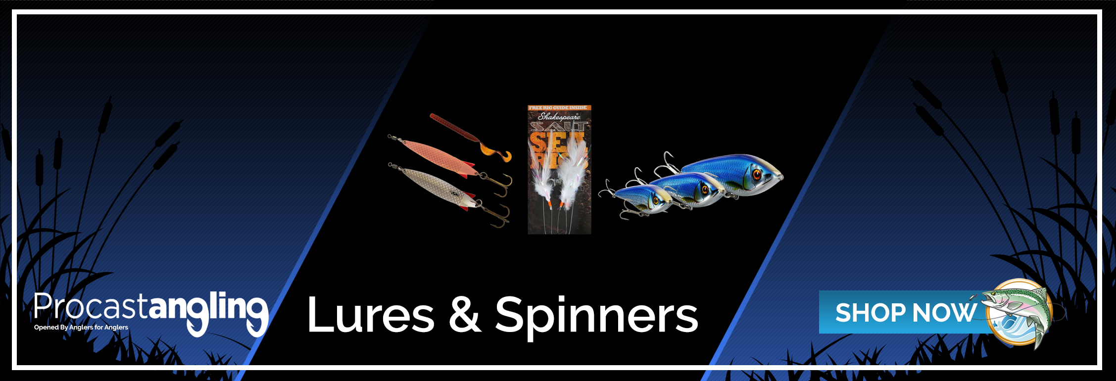 LURES & SPINNERS