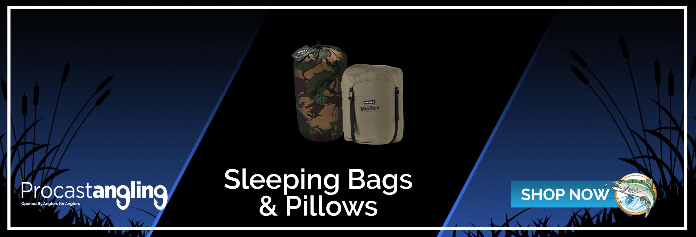 SLEEPING BAGS & PILLOWS