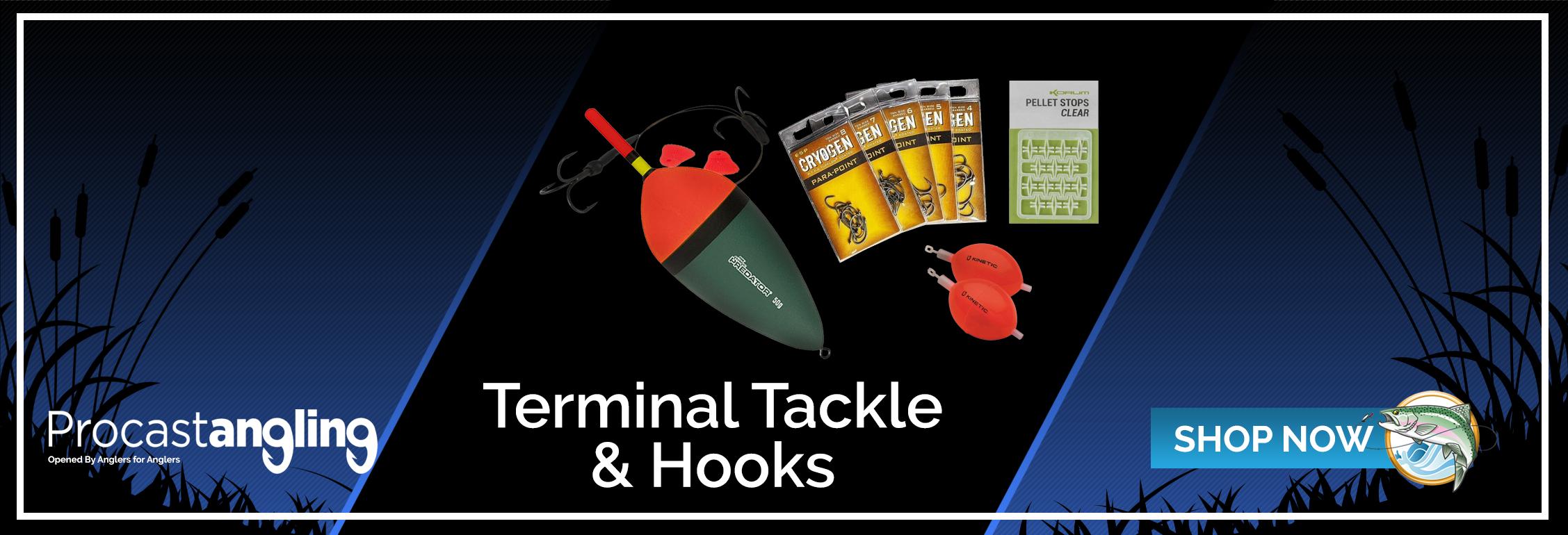 TERMINAL TACKLE & HOOKS
