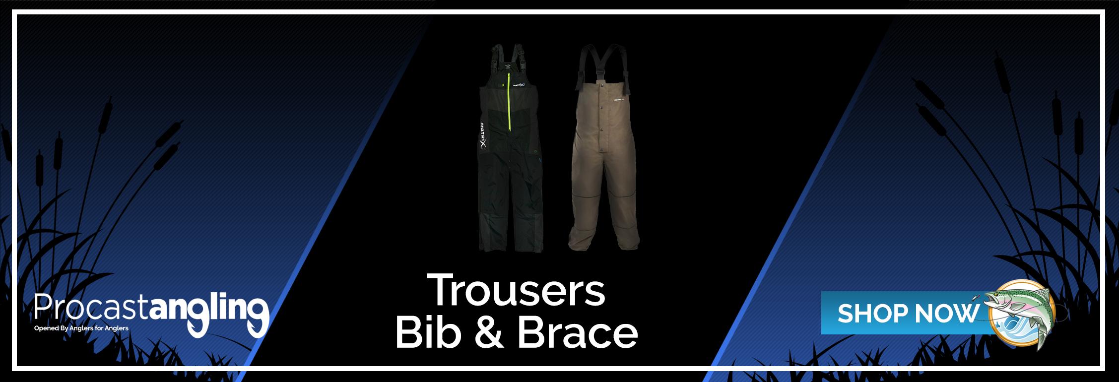 TROUSERS - BIB & BRACE