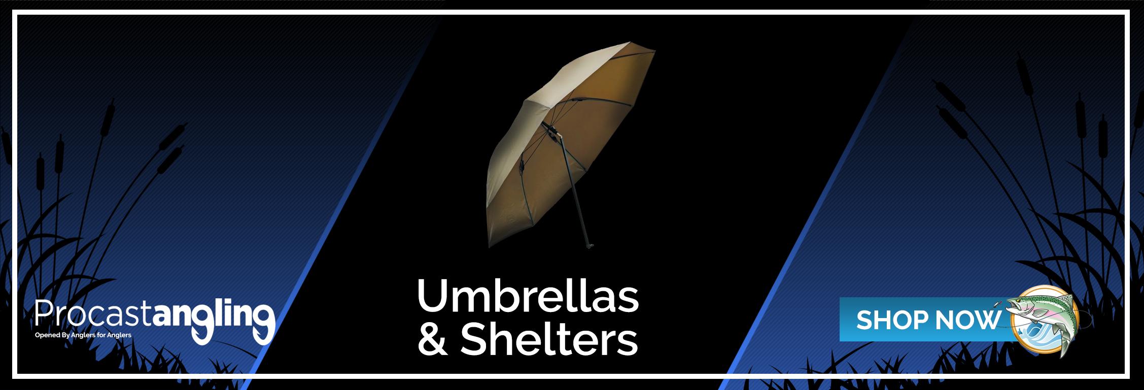 UMBRELLAS & SHELTERS